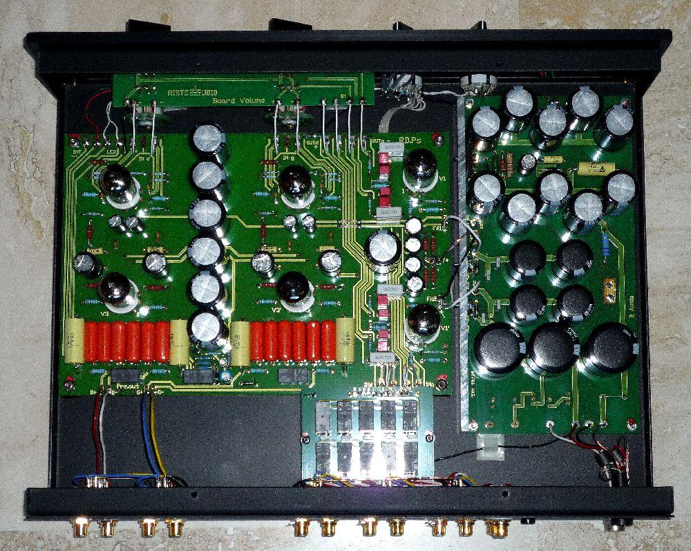 Préamplificateur PS-V01 interieur, noir