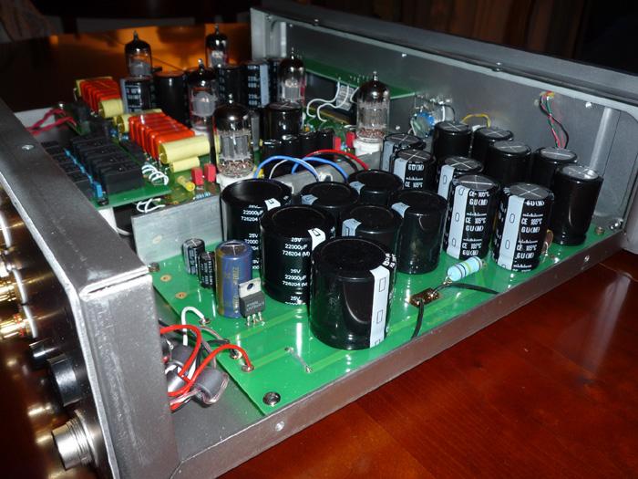 Préamplificateur PS-V01 intérieur, silver